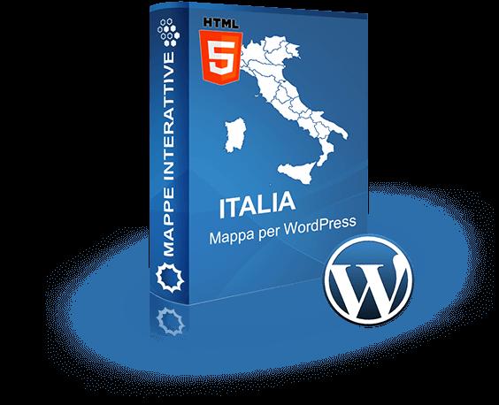Cartina Italia Interattiva Html.Mappa Interattiva Dell Italia Per Wordpress